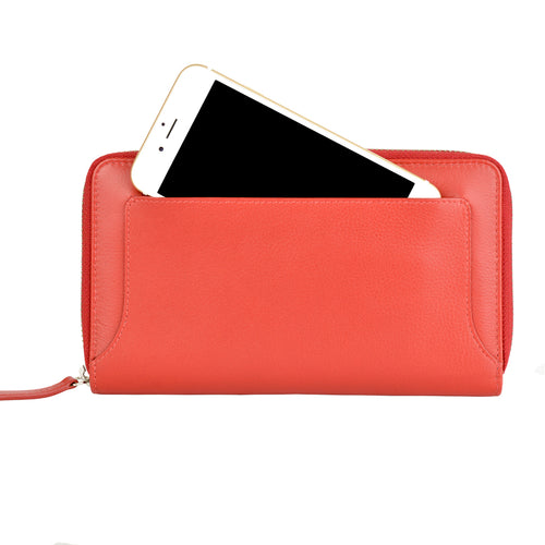 ZOE Wallet - Scarlett Red