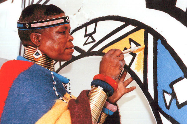 Inspired Geometry by Ndebele Tribe