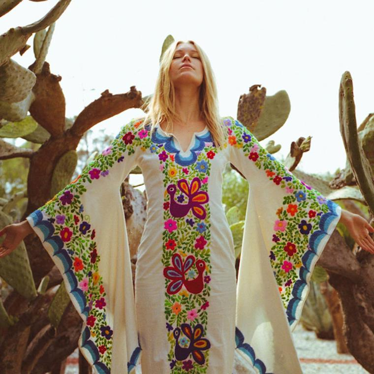 Woodstock Caftan Blue
