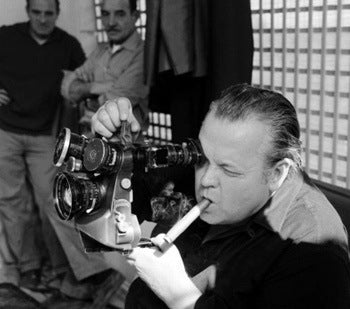 Boscutti - Orson Welles - Writer Producer Director Orson Welles shooting a scene