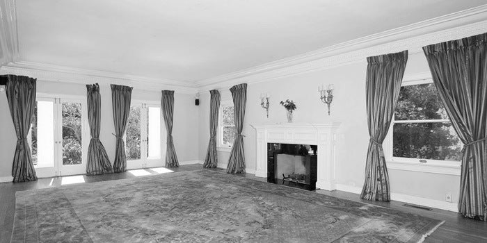 Boscutti - Orson Welles - Orson Welles' Los Angeles home great room reverse
