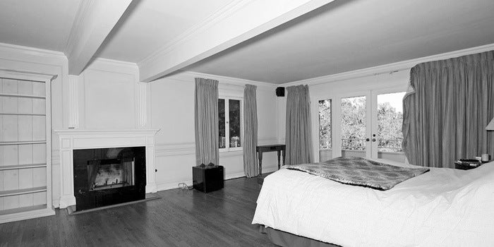 Boscutti - Orson Welles - Orson Welles' Los Angeles home master bedroom