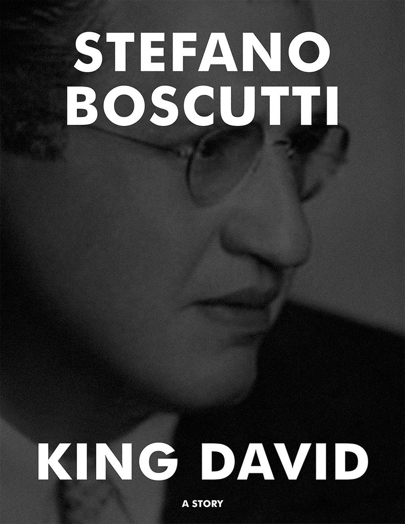 Stefano Boscutti - King David Story - Sample Cover