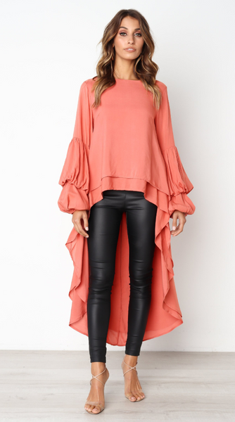 Cool High Low Irregular Shirt