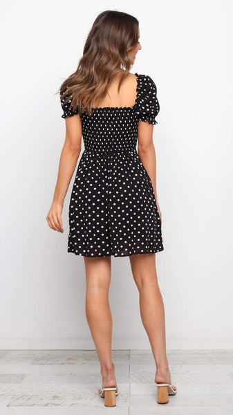 Cute Polka Dot Skater Dress