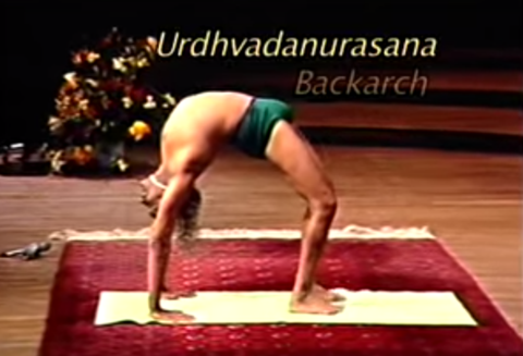 Backbending at 70 - B.K.S Iyengar