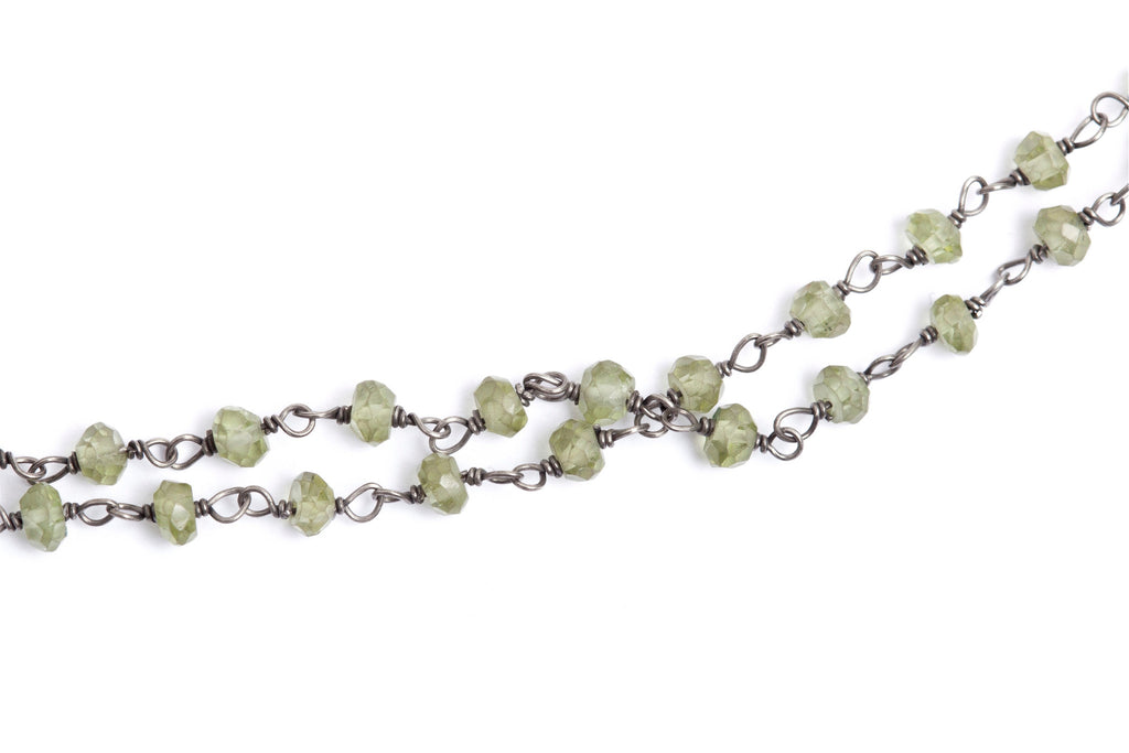 Stone Necklace - Peridot