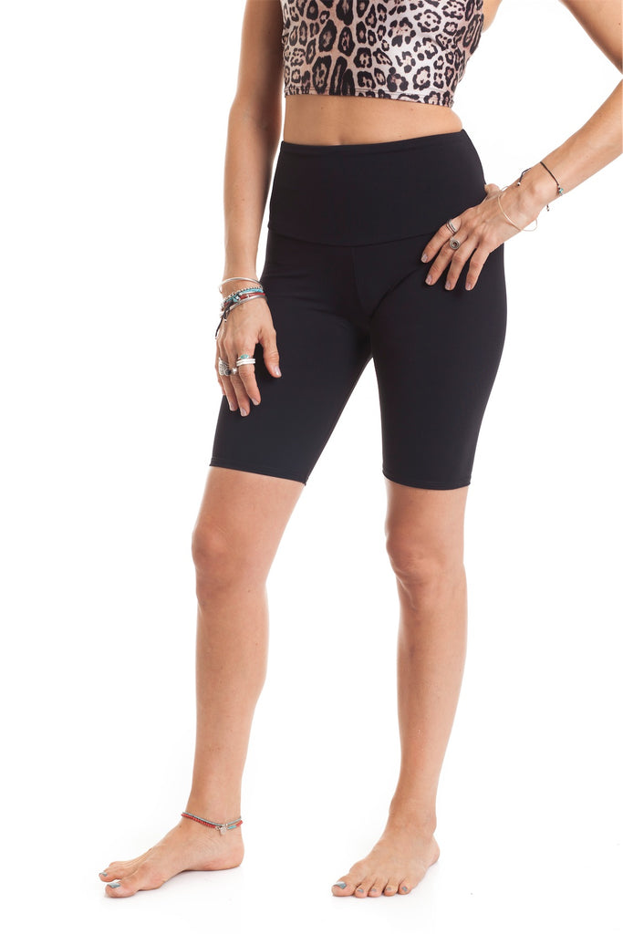 High Bike Short Black