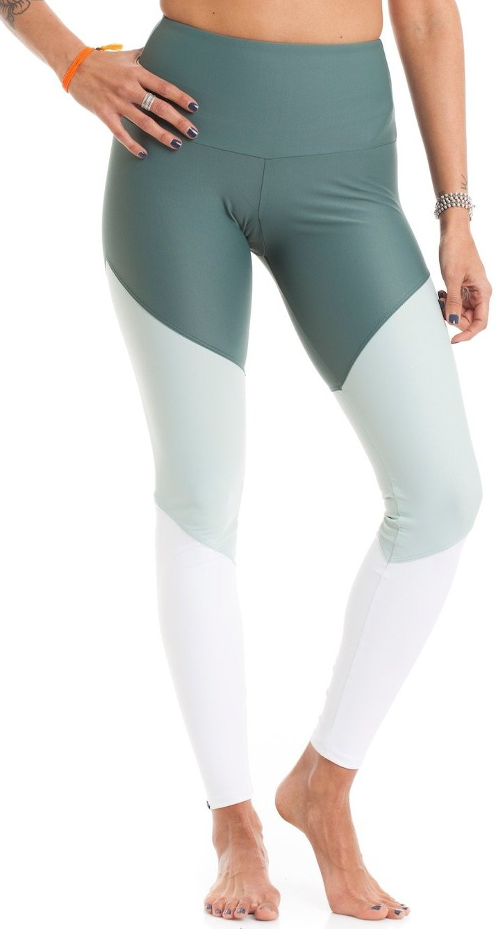 High Track Legging Pale Cacti