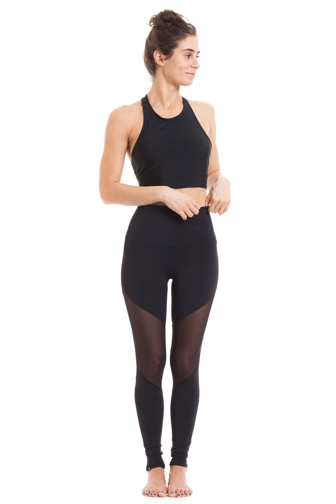 Black Track Legging