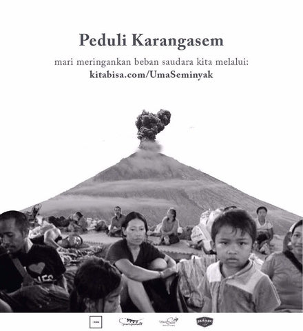 "SUPPORT THIS CAUSE: ""Peduli Karangasem"""