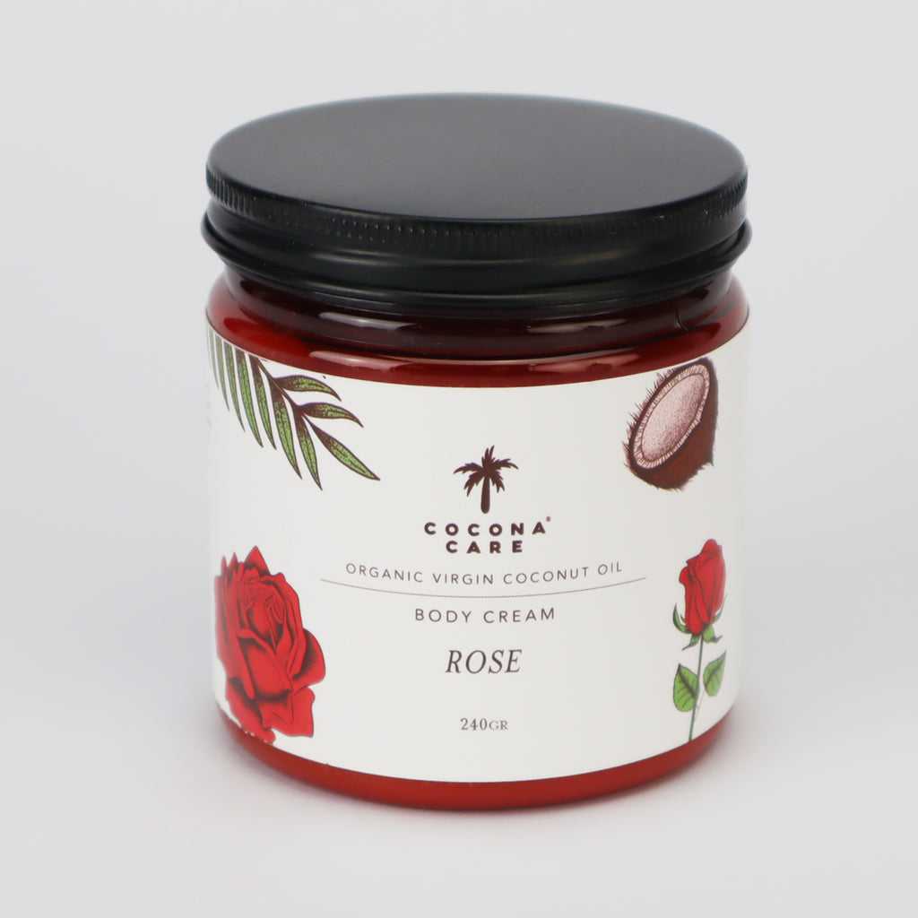Body Cream Rose