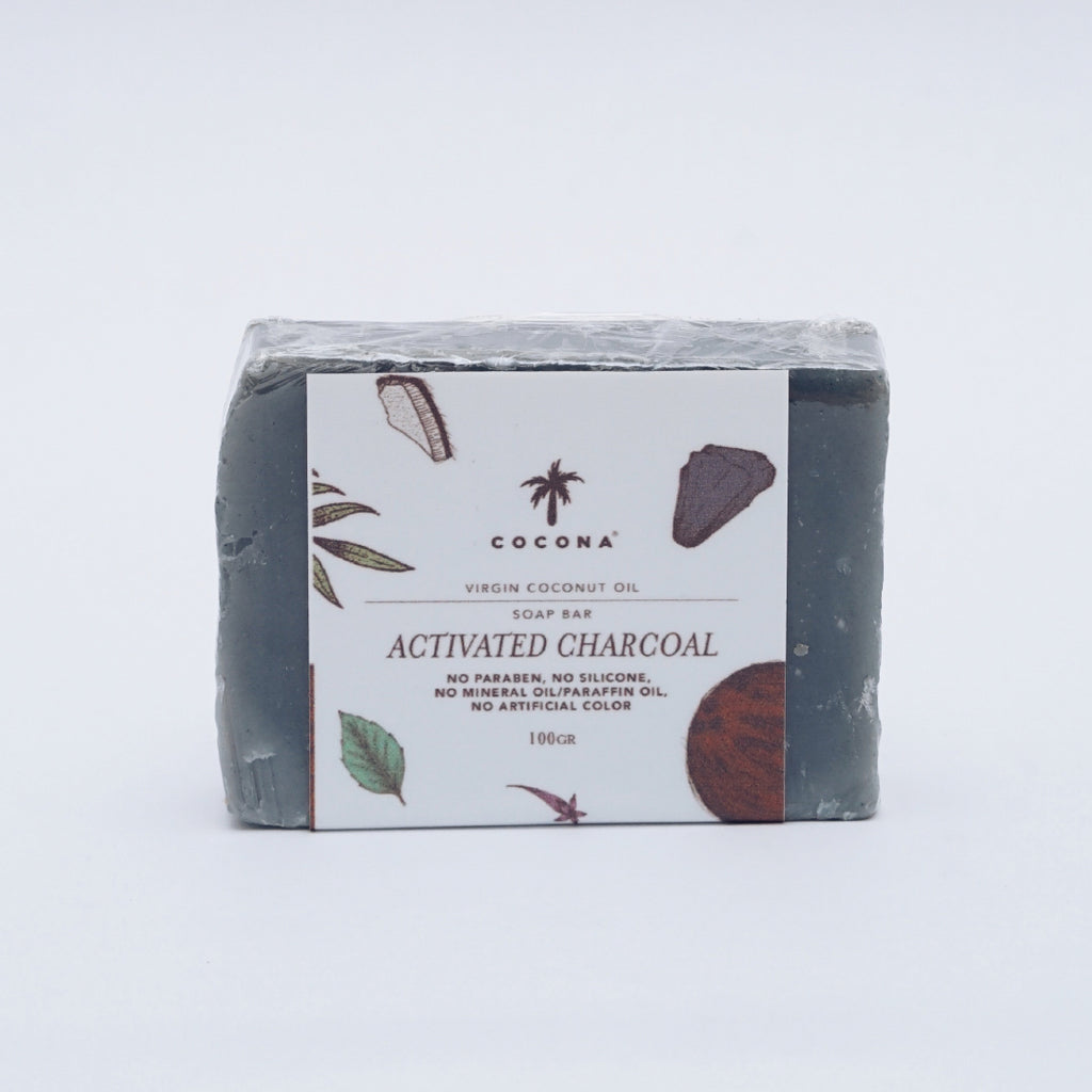 Cocona Natural Soap Bar Charcoal