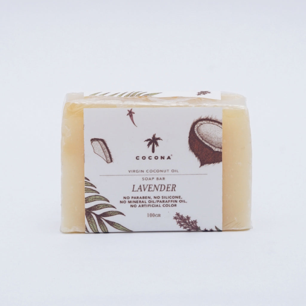 Cocona Natural Soap Bar Lavender