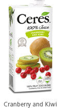 Ceres 1000 ml Cranberry/Kiwi