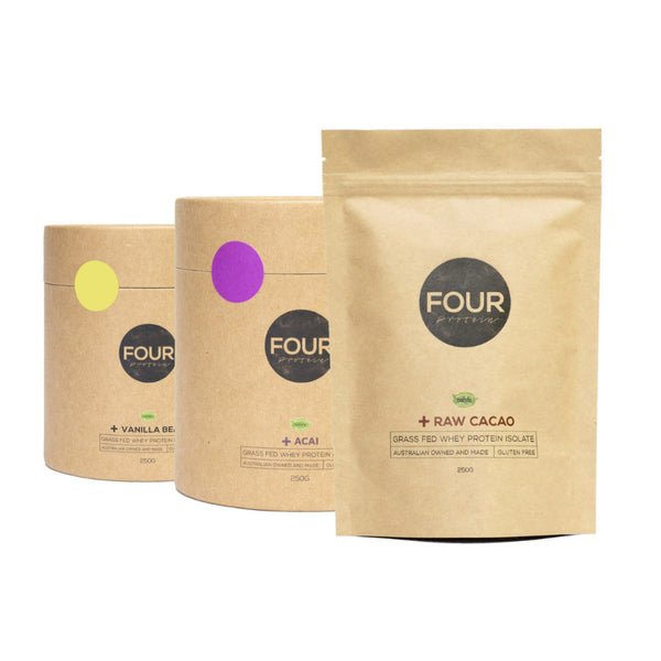 FOUR PROTEIN // BUNDLE