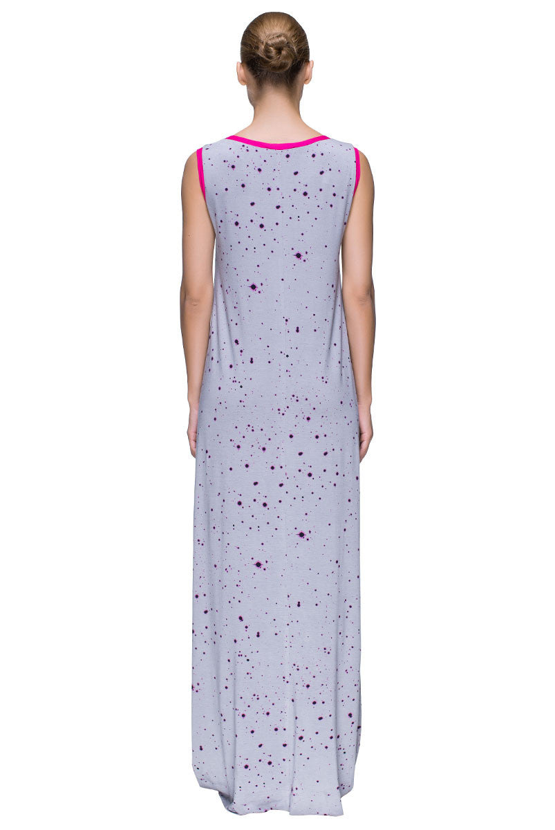 'Summer Stay' Sleeveless Floor-Length Dress