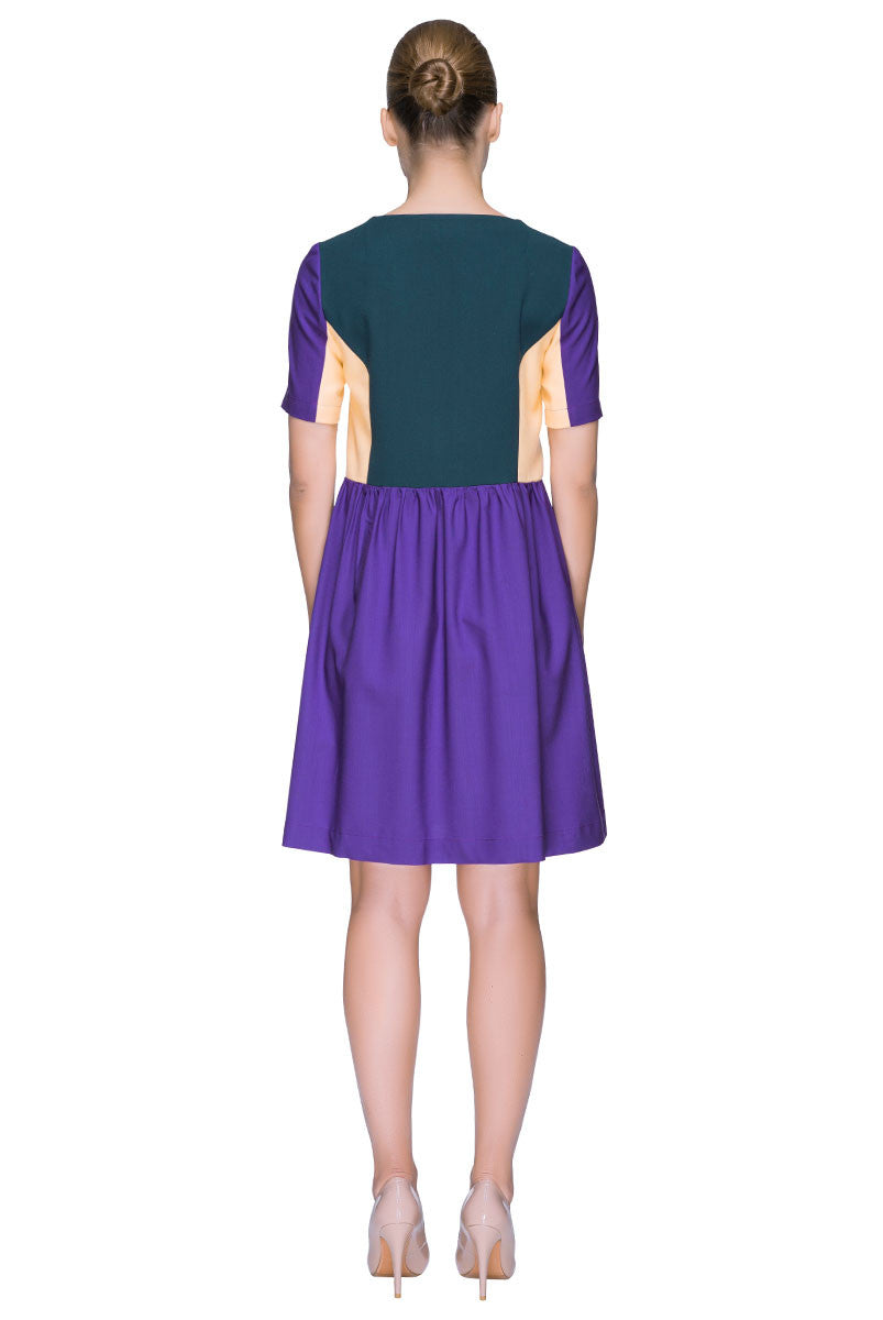 'Lollipop' Catchy Color Block Dress