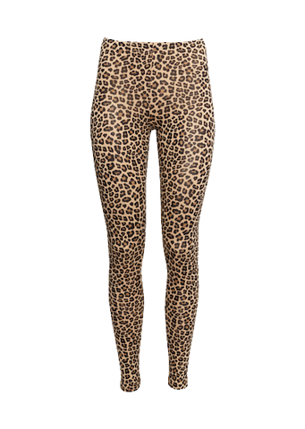 H&M LEOPARD PRINT LEGGINGS