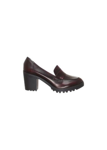 RIVER ISLAND BURGUNDY LOAFERS
