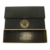 Authentic Gianni Versace Signature Medusa Head Gold Plated Vintage Coin Watch