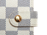 Authentic Louis Vuitton Damier Azur Small Ring Agenda Cover R20706