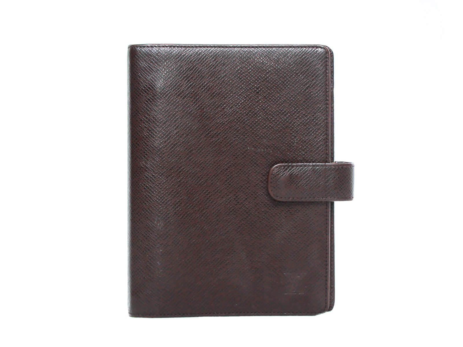 Authentic Louis Vuitton Agenda Functionnel MM Taiga leather