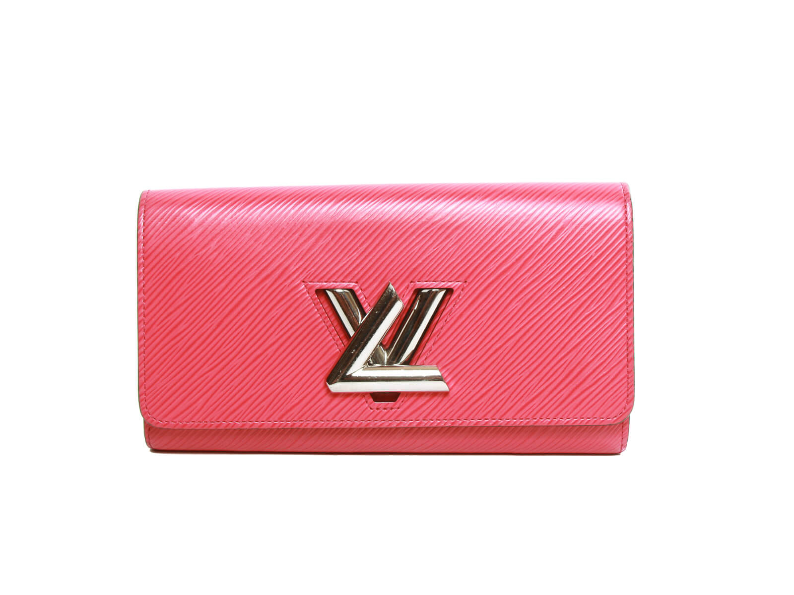 Authentic Louis Vuitton Portefeuille twist Wallet pink
