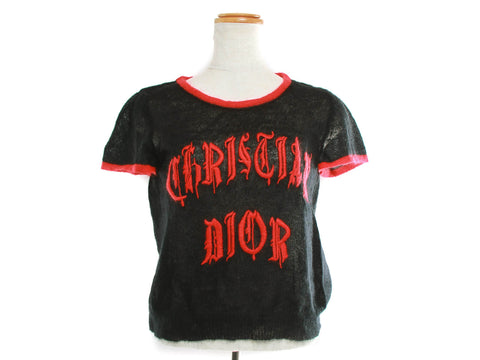 Authentic Christian Dior John Galliano Tattoo and earring t-shirt