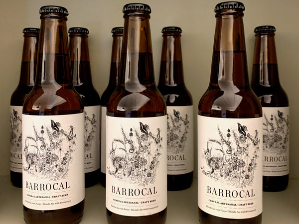 São Lourenço do Barrocal Blonde Ale Craft Beer with Pennyroyal / <i>Cerveja Artesanal Blonde Ale com Poejo</i>