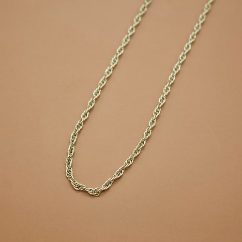 Spare Chain - Rope II (2.8mm) - Custom Length & Metal - Necklace The Serpents Club