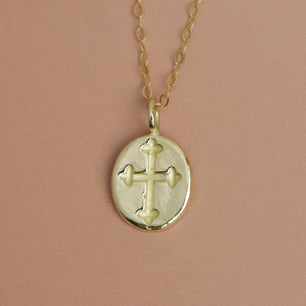 Crucifix Necklace - Necklace The Serpents Club