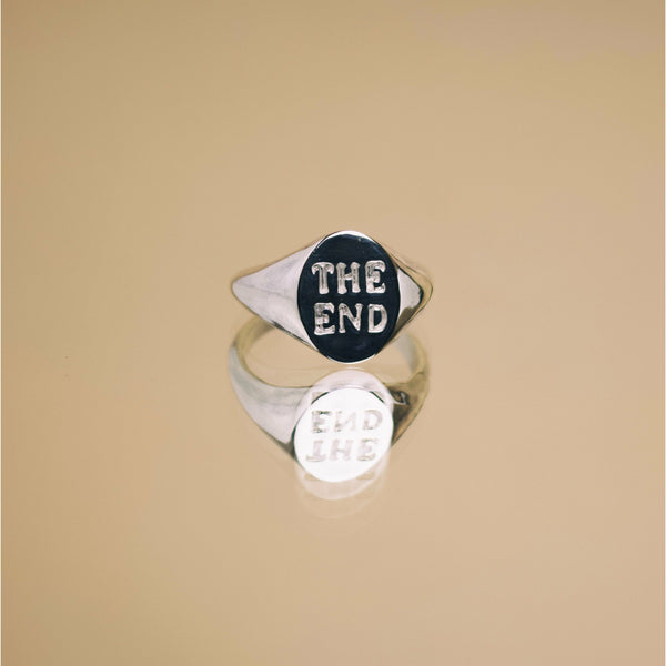 The End X The Serpents Club Memento Mori Signet - Ring The Serpents Club