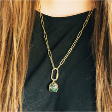 Load image into Gallery viewer, Ready To Ship ✦ Zeme IIl Charm Chain - Brass and Gold Steel