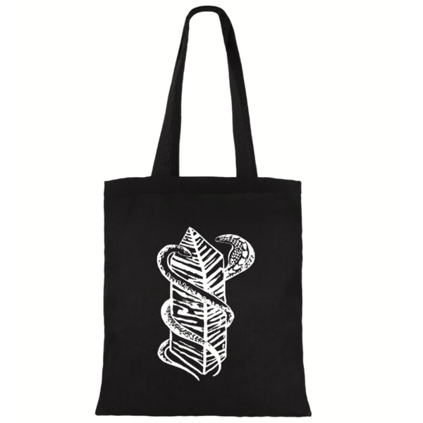 Two Snakes Club Tote (Pre-Order Ships Nov 25th) - The Serpents Club