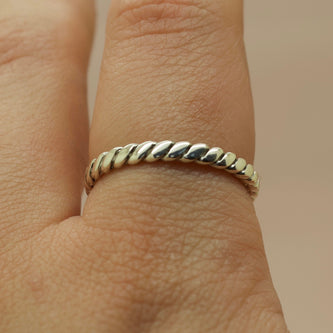 Bound I Ring - Silver or Gold -  The Serpents Club