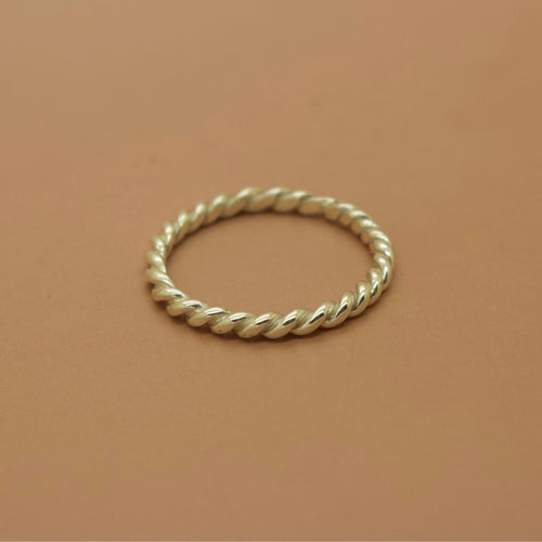 Bound Ring - Silver or Gold - Ring The Serpents Club