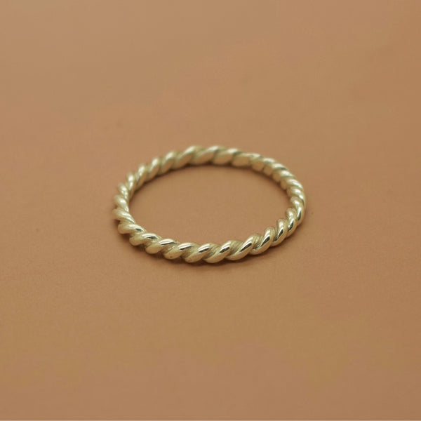 Bound Ring - Silver or Gold -  The Serpents Club