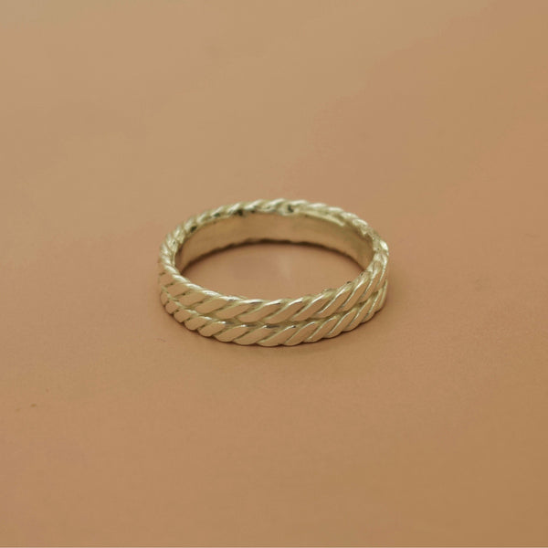 Bound II Ring - Silver or Gold -  The Serpents Club