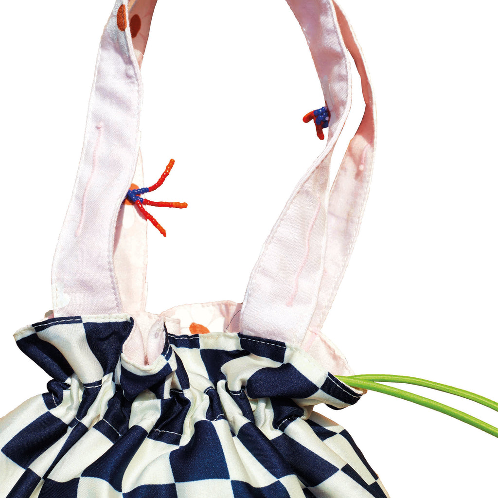 Two-way Drawstring Bag (Reversible)