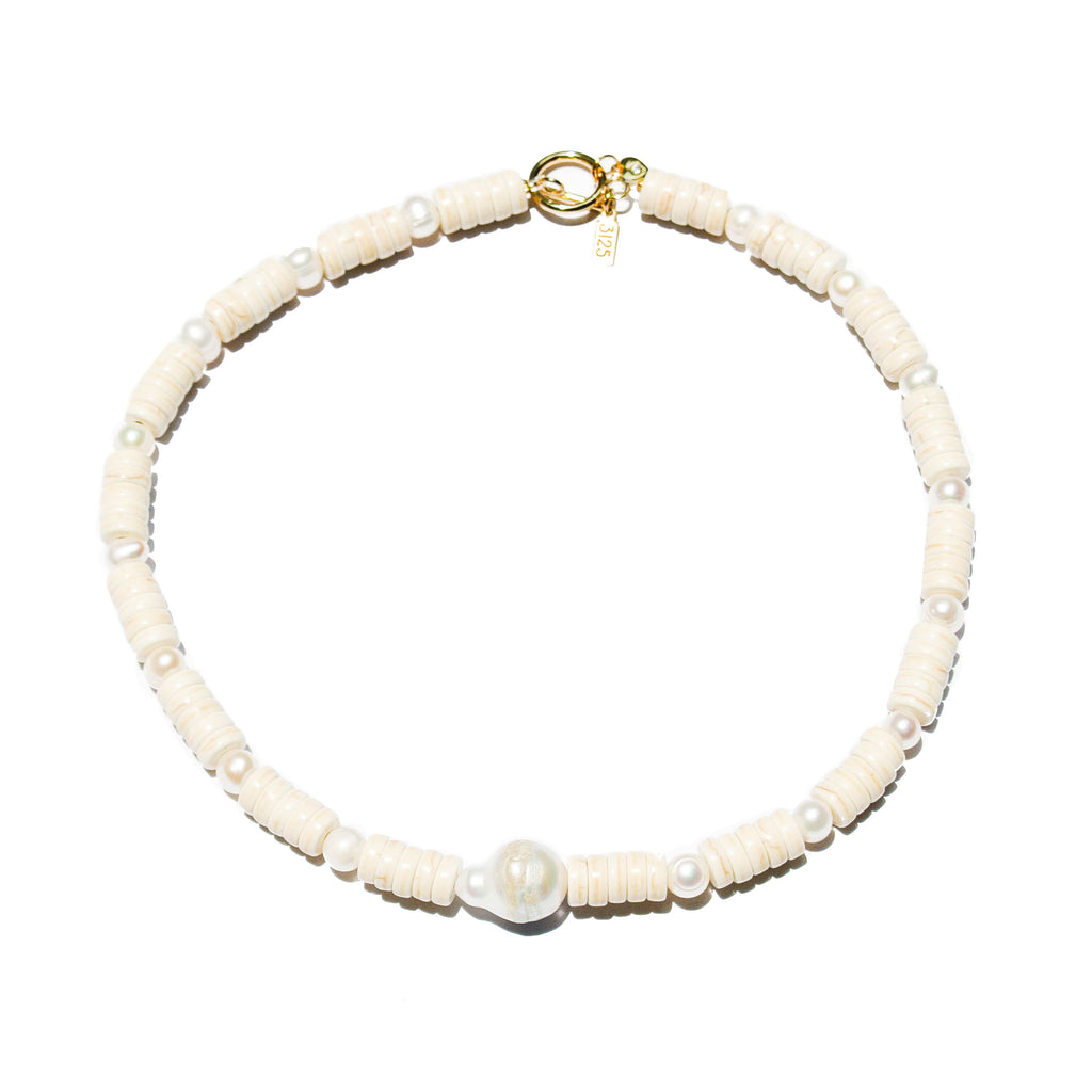 Judith Necklace: White