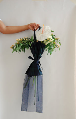 Deep Ocean Flower Bag