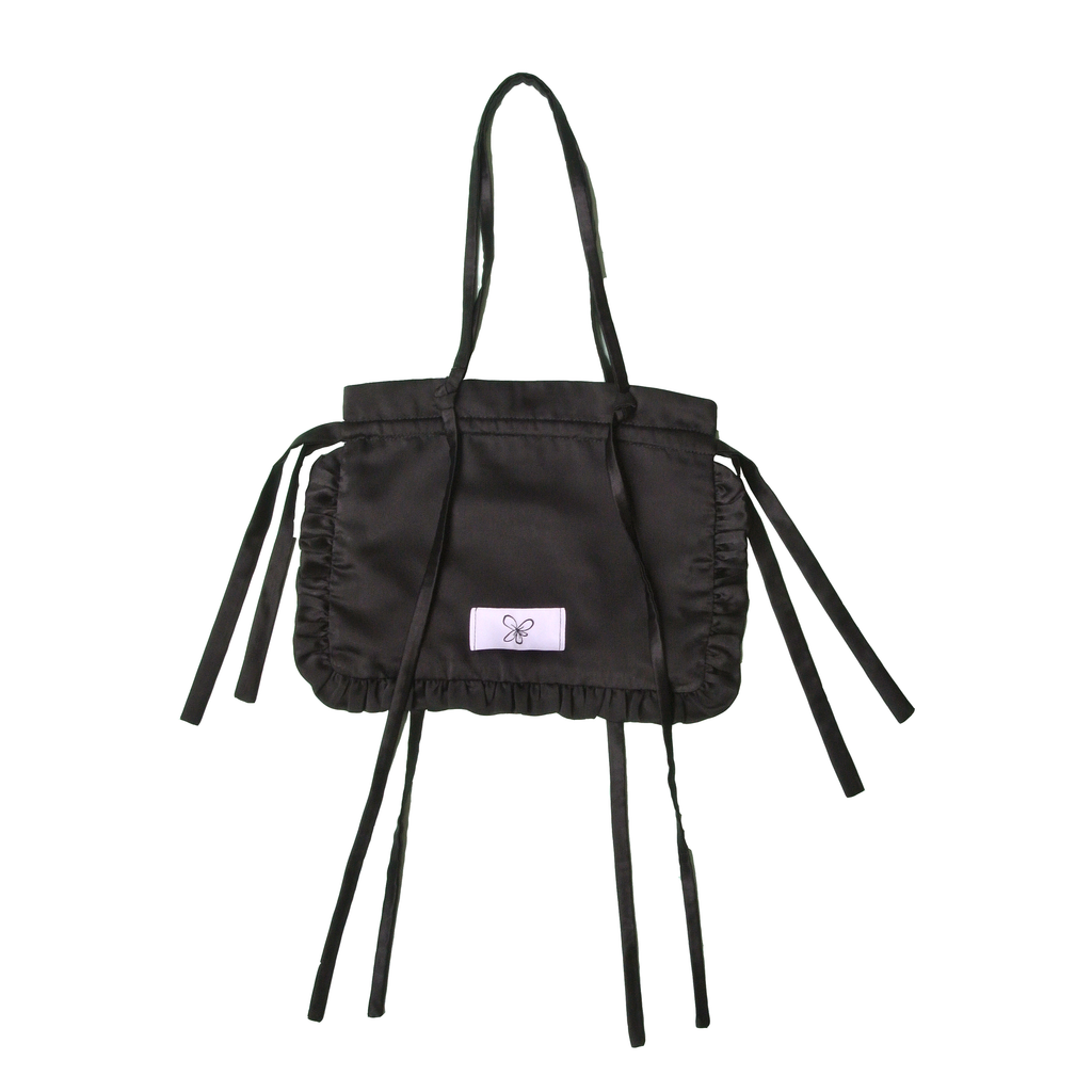 Black Logo Pouch Bag