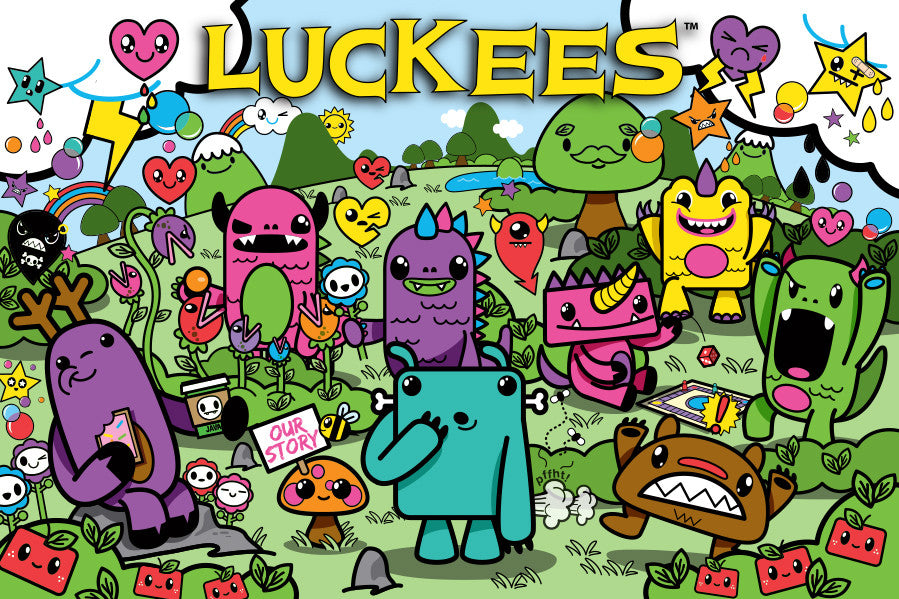 Luckees Character Page - NO PRODUCT