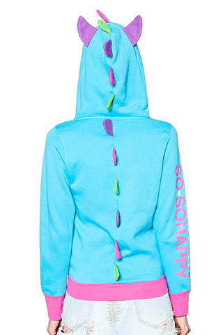 Lucky Turquoise Hoodie