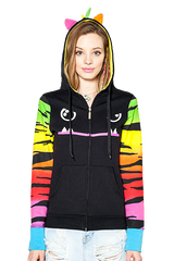 Mad Dog Tiger Sleeves Hoodie