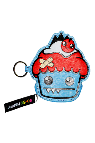 Ozzie Keychain Coin Purse