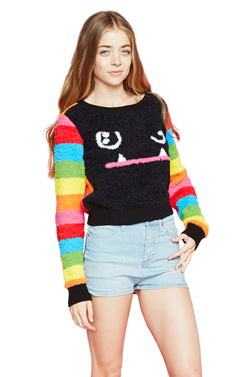 Mad Dog Cropped Sweater