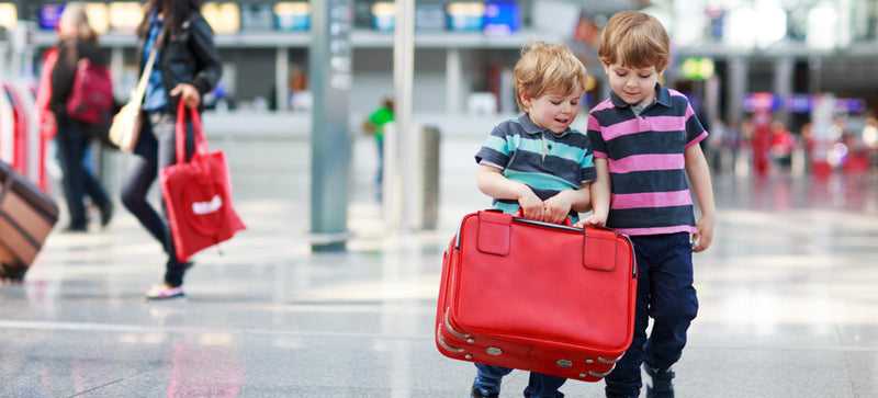 Children's suitcases