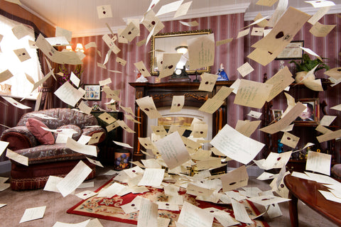 The Flying Letters At Number 4 Privet Drive